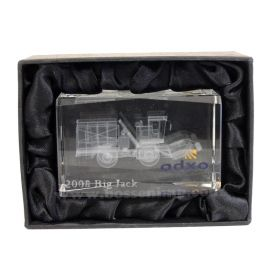 Oxbo Big Jack Etched in Crystal