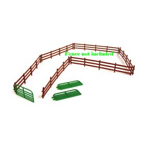 1/64 Gate Cattle 10' pkg of 3