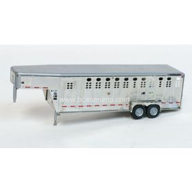 1/64 Trailer Wilson Ranch Hand 24' Livestock with interior detail assembled