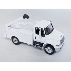 1/64 International Durastar 4400 Service Truck white