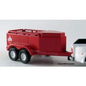 1/64 Fuel trailer 500 gal.  Red