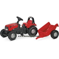 Case IH CVX-1170 Plastic Pedal Tractor w/Trailer
