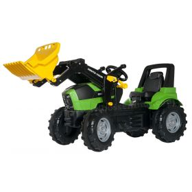 Deutz-Fahr Agrotron 7250 TTV Plastic Pedal Tractor with Front Loader