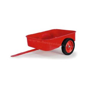 Pedal Trailer Red