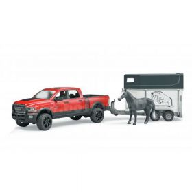 1/16 Dodge Ram 2500 Pickup with Horse Trailer