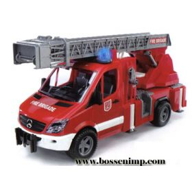 1/16 Mercedes Benz Sprinter with Ladder and accessories