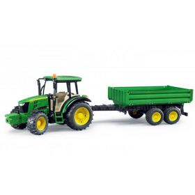 1/16 John Deere 5115M MFD with tipping trailer