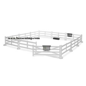 1/16 Accessory Set Pasture Fence white