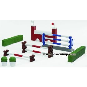 1/16 Horse Show Jumping Obstacles Set