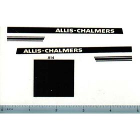 Decal 1/16 Allis Chalmers 190 Set (Hot Rod)