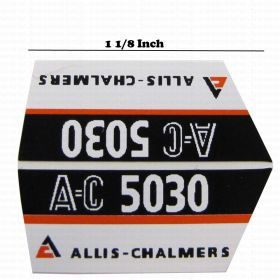 Decal 1/16 Alice Chalmers 5030 Model Numbers (pair)