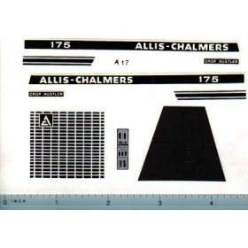 Decal 1/16 Allis Chalmers 175 Set