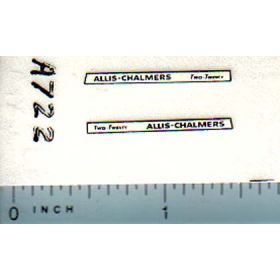 Decal 1/64 Allis Chalmers Two-Twenty Set