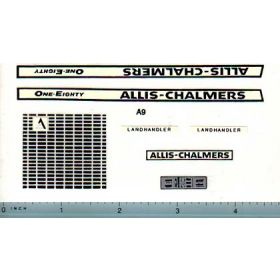 Decal 1/16 Allis Chalmers 180 Set