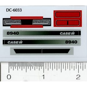 Decal 1/32 Case IH 8940 Side Panels