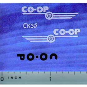 Decal 1/16 CO-OP E-5 Set