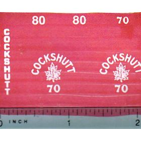 Decal 1/16 Cockshutt 70 or 80 set