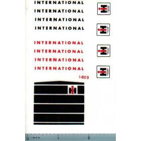 Decal 1/16 International Loader/Bachoe Set