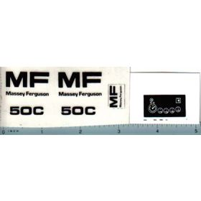 Decal 1/16 Massey Ferguson 50C Set