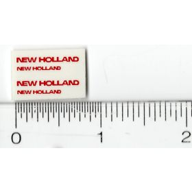 Decal 1/64 New Holland (Red)