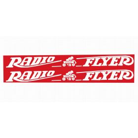 Decal Radio Flyer 18 Wagon (Pair)