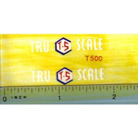 Decal 1/16 Tru Scale Implement logo Decal
