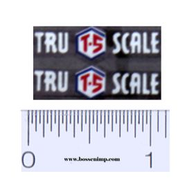 Decal 1/16 Tru Scale Implement Set (Pair)