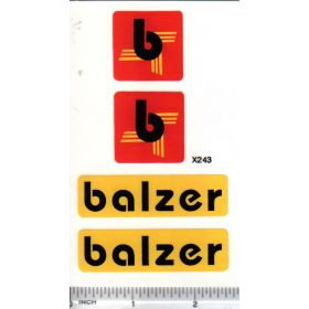 Decal 1/16 Balzer Logos Set