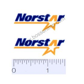 Decal 1/64 Norstar Set of 2