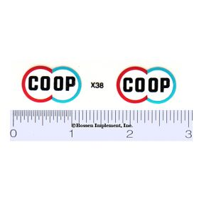 Decal 1/16 Co-Op