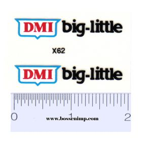 Decal 1/16 DMI big-little (Pair)