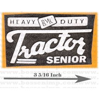 Decal BMC Heavy Duty Tractor