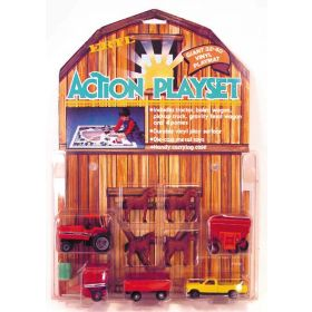1/64 International 5088 Action Play Set with Play Mat