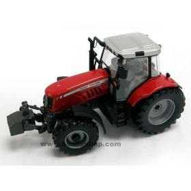 1/32 Massey Ferguson 7480 MFD with front hitch and weights