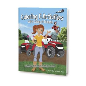 Book Case IH Casey & Friends Coloring Book