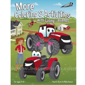 Book Casey's More Coloring & Activites