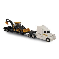 1/64 John Deere Semi with JD Backhoe/loader