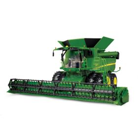 1/16 Big Farm John Deere Combine S-670 w/JD 630R grain head