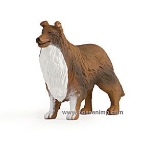 1/16 Dog Rough Collie Big Farm