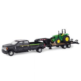 1/32 Ford F-350 Dually Pickup with Trailer & John Deere 5075E