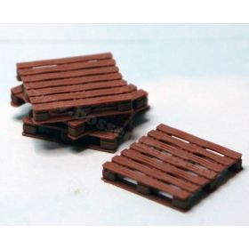 1/64 Wooden Pallets 48 in x 48 in Set of 4