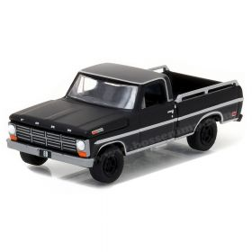 1/64 Ford Pickup F-100 1968 Black Bandit Series 17