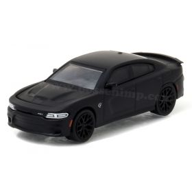 1/64 Dodge Charger SRT Hellcat 2016 Black Bandit Series 17