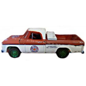 1/64 Dodge Pickup D-100 1963 Red Crown Gasoline 2 Chase