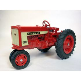 1/16 Farmall 404 w/red metal rims