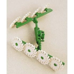 1/64 Hay Rake V-Type, mounted with 8 wheels