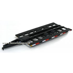 1/64 Combine Trailer-bumper hitch pull type w/out ramps, Alumi