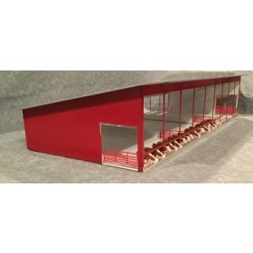 1/64 Cattle Shed Monoslope all white
