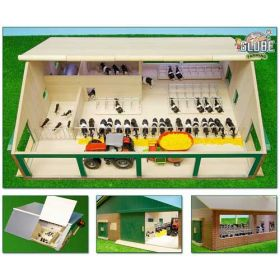 1/32 Cattle Barn with Milking Parlor