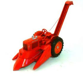 1/16 Allis Chalmers WD-45 with mounted corn picker